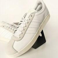 adidas Linear VL Court 2.0 Sneaker Turnschuh Herren Weiß Tennis Gr 46 2/3 F34554
