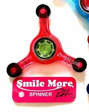 Roman Atwood Smile More Fidget Spinner Collection #2 BRAND NEW SOLD OUT PINK
