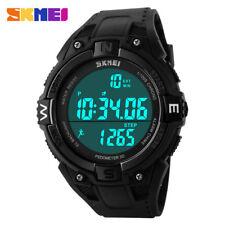 Digitale Armbanduhren aus Edelstahl mit SKMEI