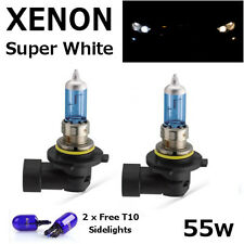 HB4 55w SUPER WHITE XENON (9006) UPGRADE Headlight Bulbs 12v ROAD LEGAL UK EU