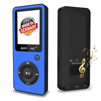 BERTRONIC Made in Germany BC02 8 GB MP3-Player - Blau - 100 Stunden