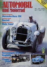 Automobil Motorrad Chronik 12 83 1983 Bucciali Studebaker LKW Goggomobil Imperia