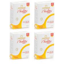 NET OMEGOR VITALITY 1000 omega-3 EPA DHA. e vitamina E 4x30 120 compresse