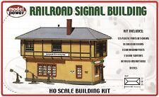 403 Décor en kit batiment signal passage à niveau Model Power train HO 1/87eme