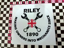 ROUND Riley MECCANICA Adesivo-ELF 4/72 1.5 Kestrel 6/90 RMA RMB RMC RMD RME RMF