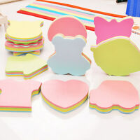 Sticky Notes Notebook Memo Pad Bookmark Paper Sticker Stationery Office Supplies