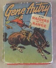 1946 Gene Autry and Raiders of the Range Western HC Better Little Book #1409