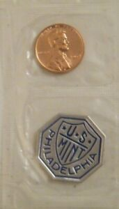 1964 Gem Proof Cello Memorial Pennies Cents with Token US Mint Coin