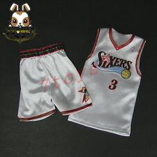 Enterbay 1/6 Allen Iverson_ Home Jersey + shorts _NBA basketball star EB048R