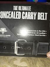 Relentless Tactical The Ultimate Concealed Carry Gun Belt Black sz 40