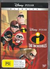 THE INCREDIBLES - DISNEY PIXAR 1 DISC NEW & SEALED REGION 4 DVD FREE LOCAL POST