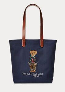 Polo Ralph Lauren Men's Bear Twill Shopper Tote