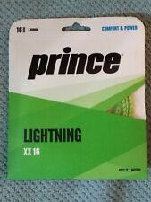24 pack PRINCE LIGHTNING XX 16 GREEN Tennis Racket String FREE SHIP Buy Now $150