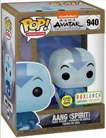 Funko Pop! Avatar The Last Airbender Spirit Aang BoxLunch GITD Glow **SHIPPED**