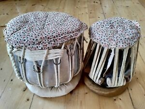 Bina Tabla Drums Set Percussion Indian Instrument Folk World Music Beginners