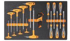 Beta M60 Torx Key Set, T-Handled Hexagon Keys & Screwdriver Handled Nut Spinn...