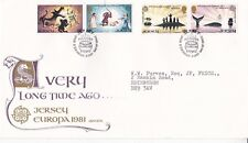 Jersey 1981 Europa  FDC with enclosure VGC