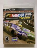 NASCAR The Game 2011 (Sony PlayStation 3, 2011) PS3 works great free shipping