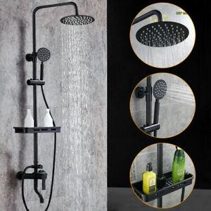 Retro Dusch Armatur Duschset Regendusche Brause Duschsystem Antik Nostalgie