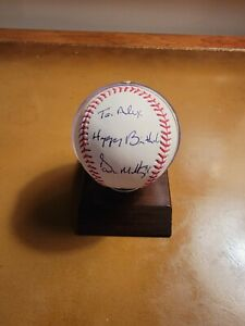 Don Mattingly New York Yankees Autographed Baseball- Steiner Cert