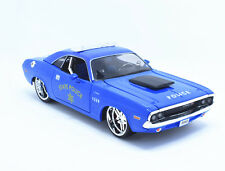 Maisto 1:24 1970 DODGE Challenger RT Coupe metal model police car new toy