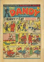 DANDY COMICS. 111 issues. 1940s to 1960s. COMICS on DVD, with viewing software.