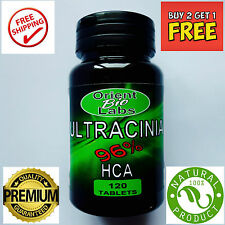 120 Garcinia Cambogia World's Strongest 96% HCA Diet Pill Weight Loss Fat Burner