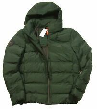 Superdry Men's Echo Quilted Puffer Coat (Deep Forest, XX-Large)