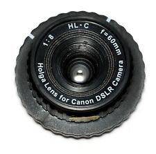 Holga 60mm Plastik objetivamente HL-C para Canon EOS (nuevo/en el embalaje original)