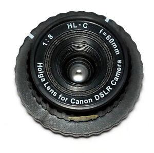 Holga 60mm Plastikobjektiv HL-C für Canon EOS / plastic lens EOS mount (NEU/OVP)