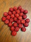 Berries Raspberries for Longaberger Collectors Club Mini JW Berry Basket