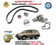 für LEXUS RX300 + Toyota Harrier 3.0i 1997> ZAHNRIEMEN KIT + Wasserpumpen Satz
