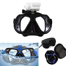 GoPro Dive Mask Snorkelling Goggles Anti Fog + Case fits GoPro SjCam Xiaomi Yi