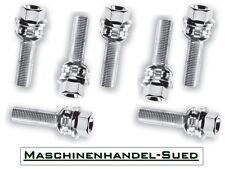 20 Radschrauben 2teilig für Porsche Boxster M14x1,5 - 30mm verzinkt