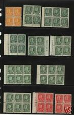 Canada162//174  Block of 4  booket pane Mint  LOT  READ
