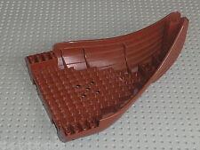 Coque bateau LEGO VIKING RedBrown Boat base Bow ref 53452 / 7018 Viking Ship
