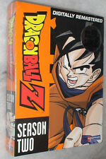 DRAGON BALL Z: Temporada 2 TWO SIN CORTAR DVD Box Set - Nuevo Precintado
