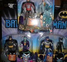 BATMAN VERSUS CATWOMAN,  TWO FACE, AND THE JOKER.. 6 FIGURES MIPS  FREE U.S.SHIP