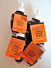 Bath Body Works Home SWEET CINNAMON PUMPKIN Wallflower Refill Bulbs Deco NEW x 4