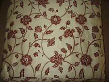 Chaps Ralph Lauren Chandler Cotton Sateen FULL Flat Sheet Jacobean Floral NWOP