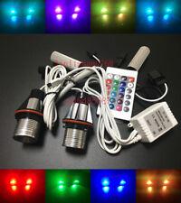 RGB Angel Eyes LED Headlight For Bimmer BMW E87 E39 E60 E63 E65 E53 E83-One Set