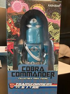 Kidrobot Cobra Commander G I Joe 7 inch Figure