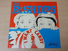"""EX-/EX- !! The Bishops/I Want Candy/1978 Chiswick 12"""" Single/Punk"""