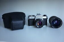[EXCELLENT] PENTAX K1000 + SMC Pentax-M 50mm f/2.0 + 28-100 + CASE | METER WORKS