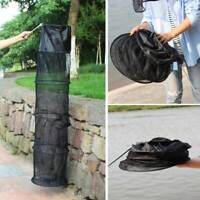 5-Layer Floating Wire Basket High Capacity Collapsible Fish Net Cage Fishing Net