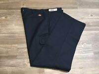 DICKIES Men's Navy Blue Twill Cargo Work Pants 2016 LP600NV Size 38x32 NWT J2