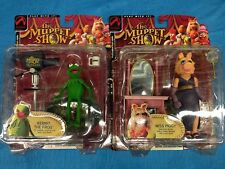 Muppets set of Kemit and Miss Piggy Figures - Palisades Series 1