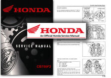 Honda CB750 F2 Service Workshop Repair Shop Manual CB 750 FII F2 CB750F2