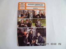 CARTE FICHE CINEMA 2007 JOYEUSES FUNERAILLES Matthew MacFadyen Keeley Hawes