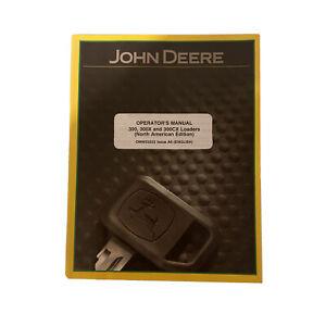 John Deere 300, 300X, and 300CX Loaders Operator's Manual OMW52222